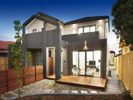 Brunswick Townhouses - Colorbond Roof