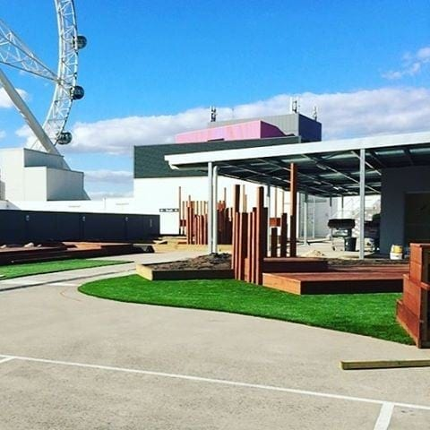 Giraffe Childcare Centre Docklands - New Colorbond Roof