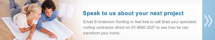 Residential Roofing Enquiries Melbourne